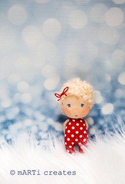 Travel Buddy - Tiny Little Waldorf Doll