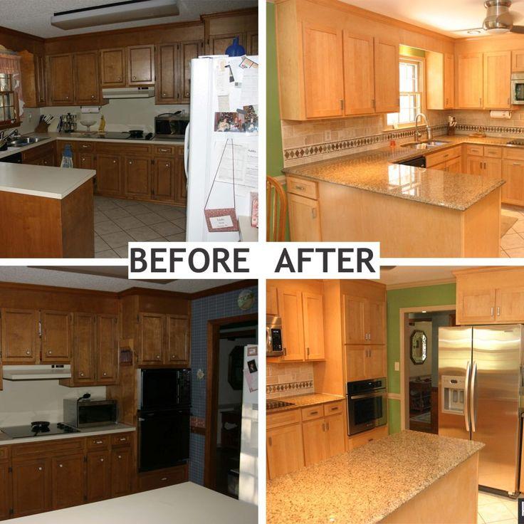 Refacing Kitchen Cabinet Doors: Best 25+ Refacing Cabinets Ideas On Pinterest
