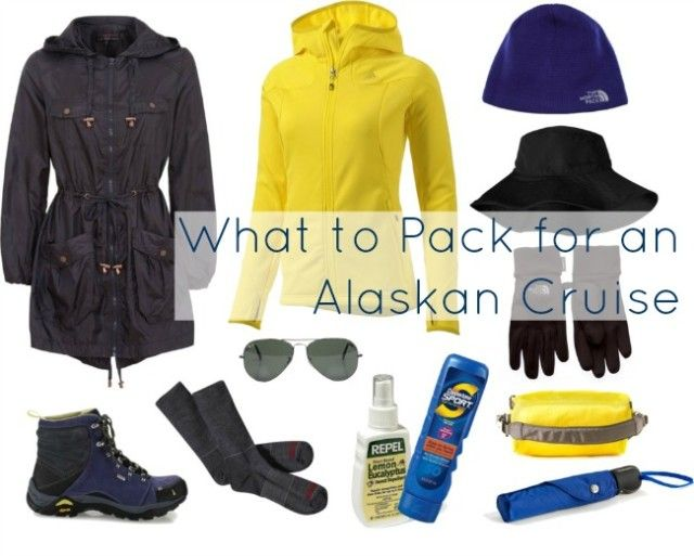What to wear and pack for an Alaskan cruise. A capsule wardrobe of the basics necessary to take with you when visiting Alaska or going on a cruise there.