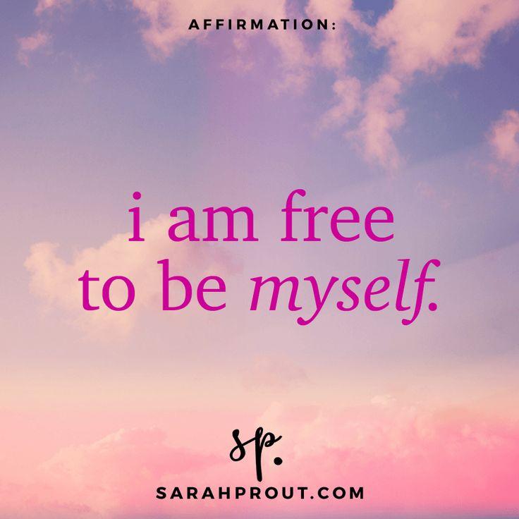 Affirmations   Sarah Prout