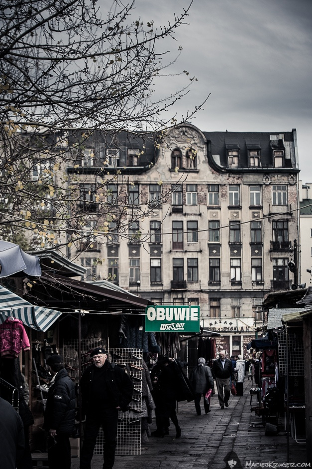 Bazaar, Praga, Warsaw, Poland