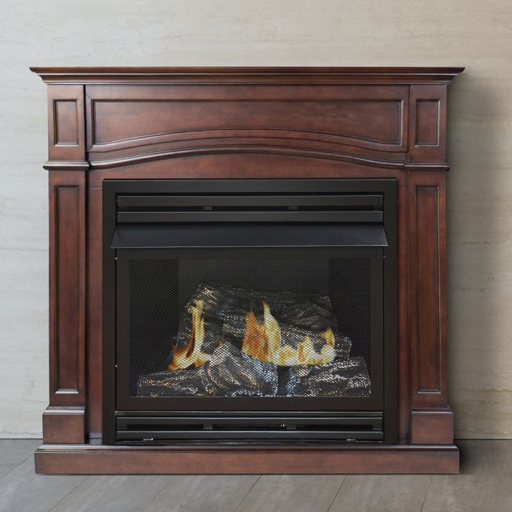 Gas wall fireplace and Gas fireplace