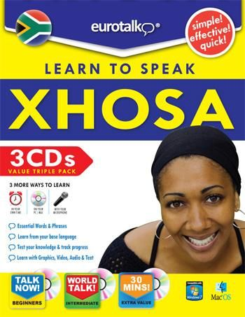 "Xhosa-is one of the official languages of South Africa. It is spoken by approximately 7.6 million people, or about 18% of the South African population. Like most Bantu languages, Xhosa is a tonal language, that is, the same sequence of consonants and vowels can have different meanings when said with a rising or falling or high or low intonation. One of the most distinctive features of the language is the prominence of click consonants; the word ""Xhosa"" begins with a click."