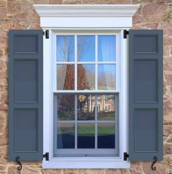 Window frame and Shutters