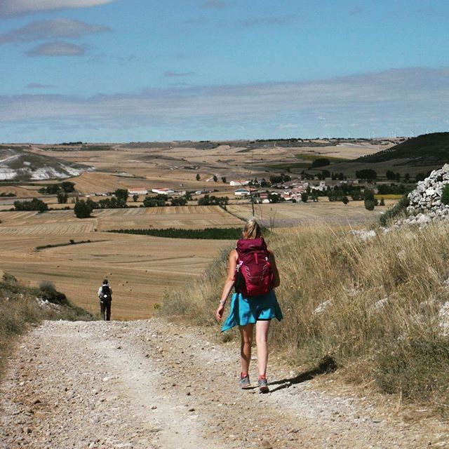 Walking The Meseta On The Camino De Santiago The Bread Basket Of Northern Spain Mountainwaysireland Esca Camino De Santiago Northern Spain The Camino