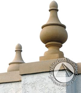 St Petersburg Finial - the perfect finishing touch.