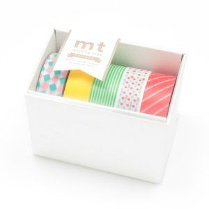 Amazon.com: MT Kamoi Kakoshi Masking Tape Gift Box Pop, 15mm Width, 10mm Roll In…