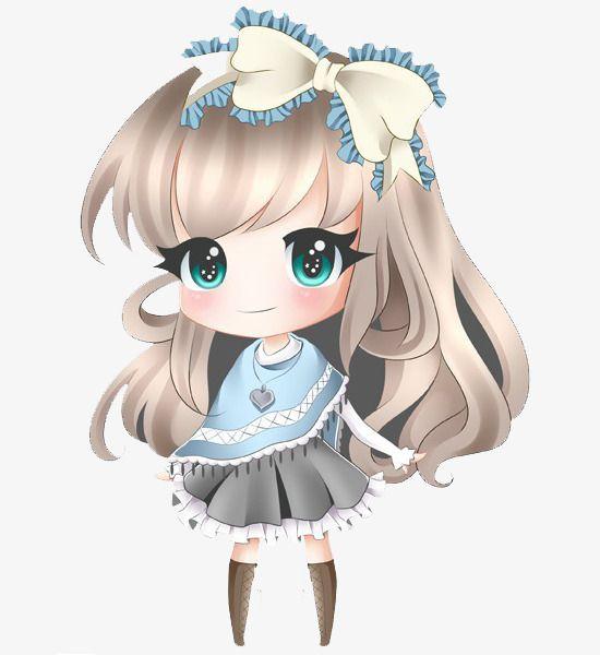 Princess Little Girl Cute Anime Chibi Chibi Girl Chibi