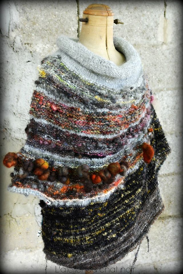 """From post by Christie Christie on Fiber Artists and Yarn Spinners FB page -- Stephen West """"Enchanted Mesa"""" pattern"""