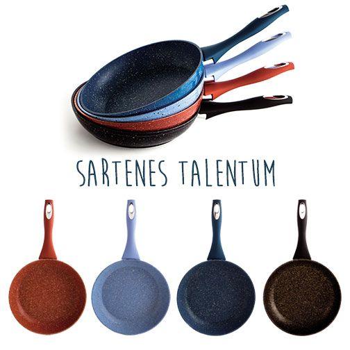 #Sartenes #Talentum: máxima #antiadherencia. Nunca se te volverá a pegar un #huevofrito