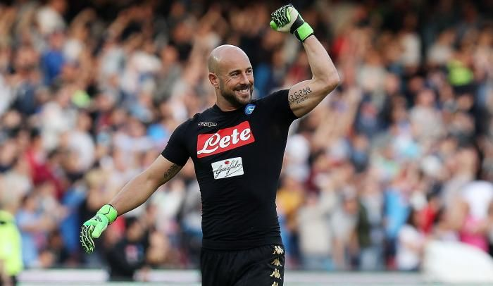 #rumors  Pepe Reina 'targeted by Man City' as back-up to Ederson in £5million switch from Napoli