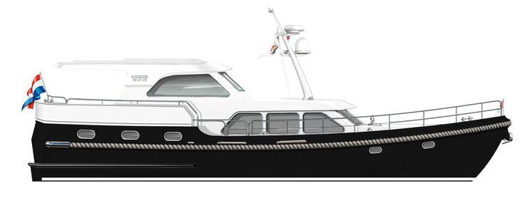 Linssen Mark III Wheelhouse Yacht