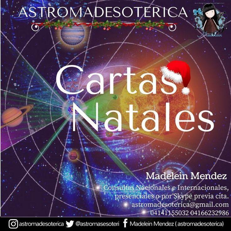 Estudiando la Carta Natal de una persona conocemos la energía que estaba presente entre el Cielo y la Tierra en el momento de nacimiento y el ADN cósmico .  Reserva tu cita por #Skype o presencial en #Caracas -----> astromadesoterica@hotmail.com 584141155032 ___ #Astrologia #Skype #Astros #Caracas #Venezuela #Astrobásico #Tarot #Sinergias #ConectaTuSentidos #RevoluciónLunar #Astrology #Consultas #Bienestar #Futuro #Conocetufuturo #Universo #Horoscopo  #Yoga #Chakras #Prosperidad #Armonia…