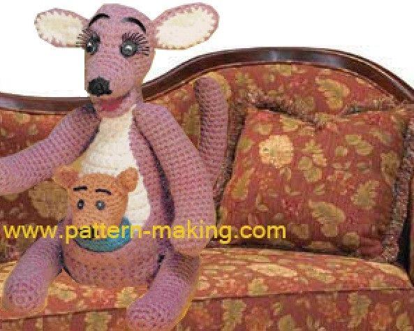 NEW CROCHET KANGAROO HAT PATTERN FREE Crochet