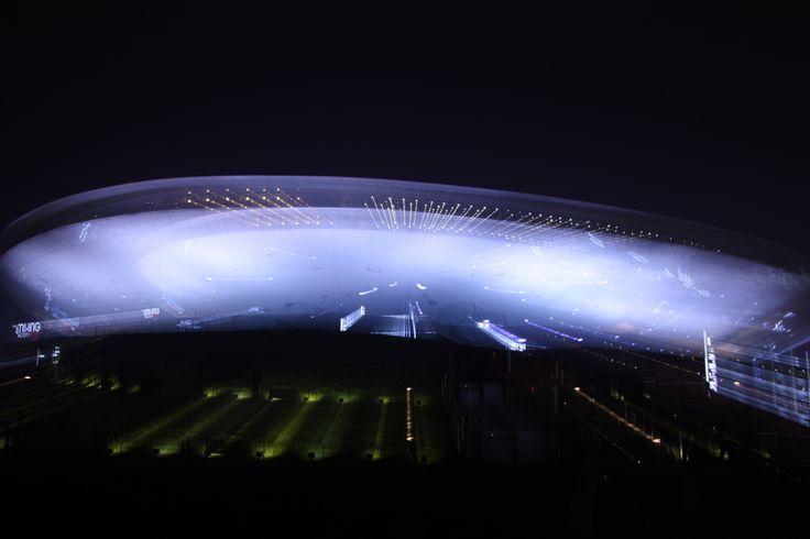 Mercedes-Benz Arena, Shanghai.
