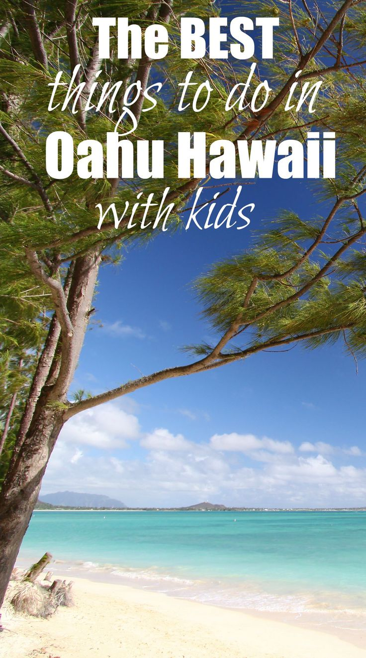 Families love the island of Oahu, and for good reason! From playing in the clear blue waters of Kailua Beach to exploring the metropolitan city of Honolulu, there is so much to do here.  If you're considering a fall break family trip to Hawaii, here are the best things to do in Oahu with kids.