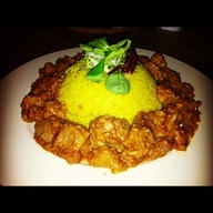 Yellow Rise with Sate Bali...Indonesian Food