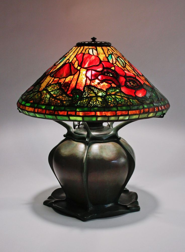 lamp bases studio lamp candle lamp louis comfort tiffany daffodils ...