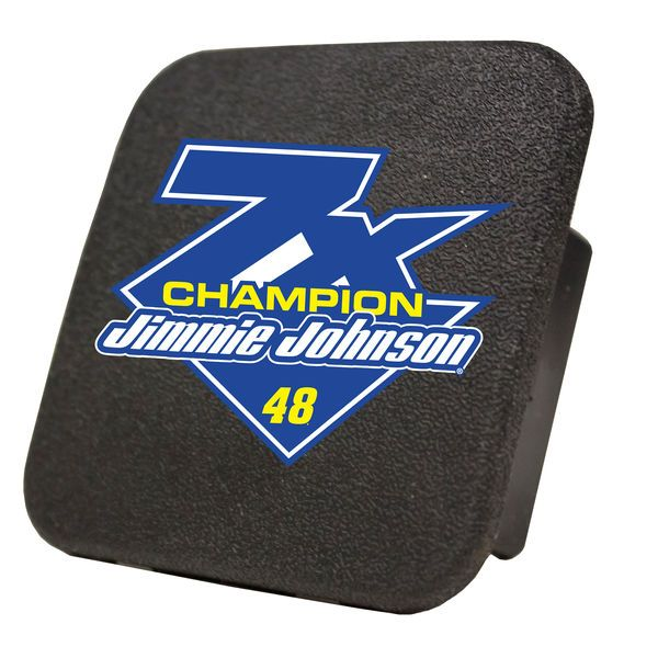 Jimmie Johnson 2016 Sprint Cup Champion Rubber Hitch Cover - $7.99