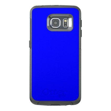 #plain - #Blue OtterBox Samsung Galaxy S6 Edge Case
