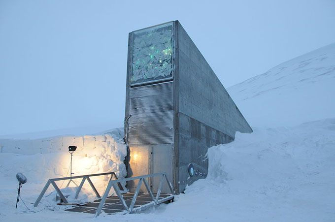 Svalbard Seed Vault: Seeds Vault, Global Seeds, Favorite Place, International Seeds, Architecture, North Pole, Svalbard Seeds, Seeds Banks, Svalbard Global
