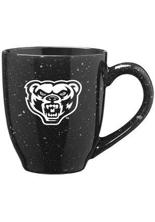 Oakland University Golden Grizzlies 16oz Bistro Speckled Mug