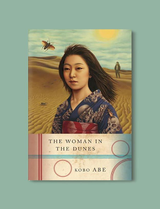 Books Set In Japan - The Woman in the Dunes by Abe Kobo. For more books visit www.taleway.com to find books set around the world. Ideas for those who like to travel, both in life and in fiction. #books #novels #bookworm #booklover #fiction #travel #japan