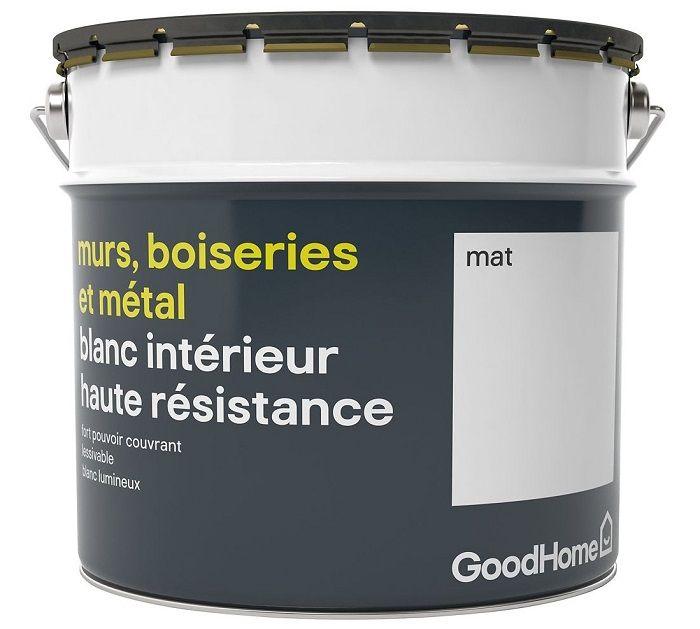 Peinture Murs Boiseries Et Métal Goodhome Haute Résistance