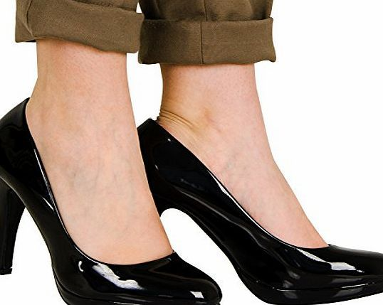 ByPublicDemand Monique High Heel Stiletto Smart Court Shoes Ladies Party Office Work Black Patent Size 4 UK Style: High Heel Court Shoes<br/>Size: Available in UK Size 3 - 8<br/>Main Material: Synthetic<br/>Heel Height (Inches): 4.5/11.5cm<br/>Shoe/Boo (Barcode EAN = 5053212457532) http://www.comparestoreprices.co.uk/office-shoes/bypublicdemand-monique-high-heel-stiletto-smart-court-shoes-ladies-party-office-work-black-patent-size-4-uk.asp