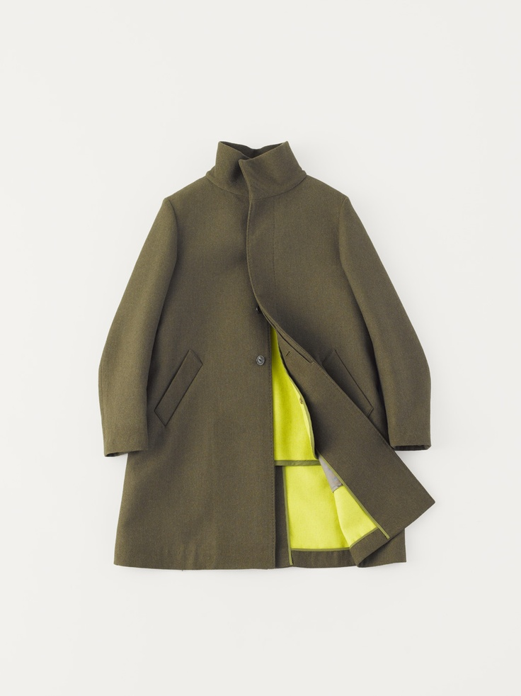 arts & science | stand collar coat