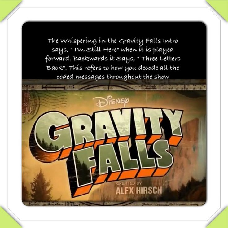Gravity Falls Secrets