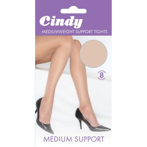 From 2.36 Cindy Womens/ladies Mediumweight Support Tights (1 Pair) (medium (5ft-5ft8)) (bamboo)
