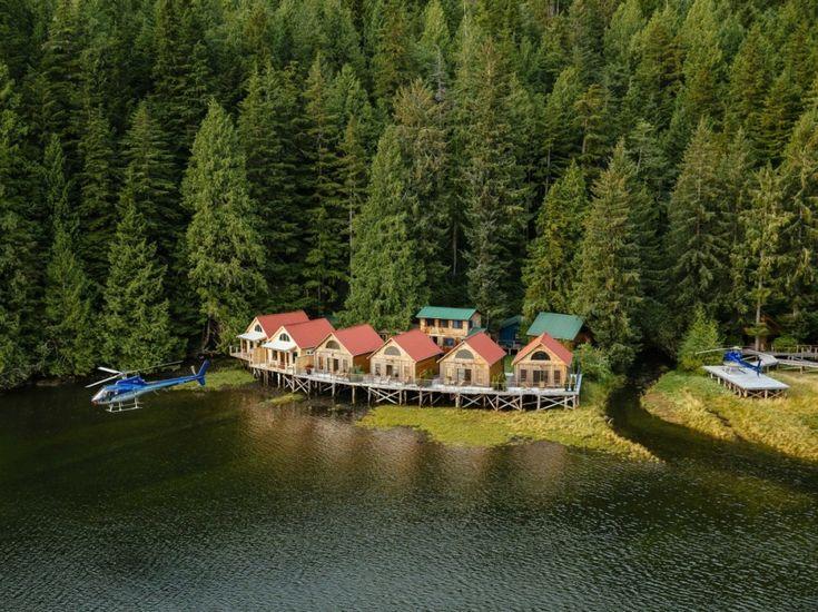 Отель Nimmo Bay Wilderness Resort, Британская Колумбия, Канада.