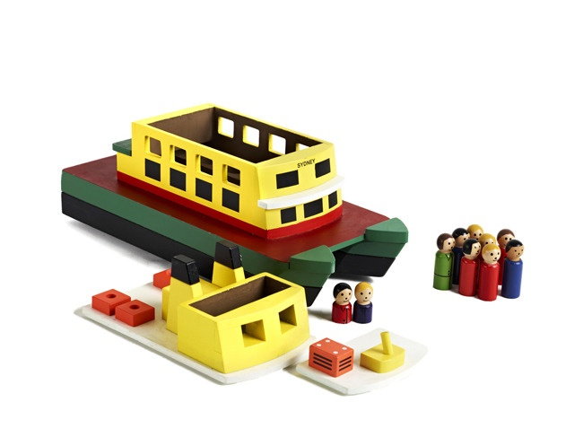 Sydney toy ferry from iconic