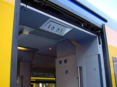 The Eurotech passenger counter is a fully integrated ready-to-use solution designed to accurately keep track of the quantities of passengers entering or leaving public transport vehicles. - Image - Road Traffic Technology