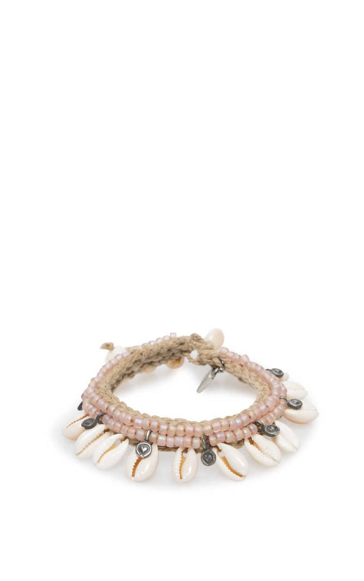Hand- & Fotlänk Aruba Shell PINK - no worries it is summer - Raglady
