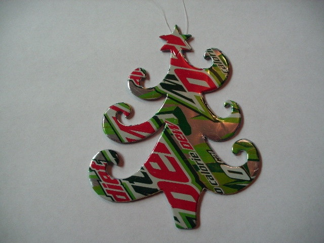 27 Best Soda Can Christmas Ornaments Images On Pinterest