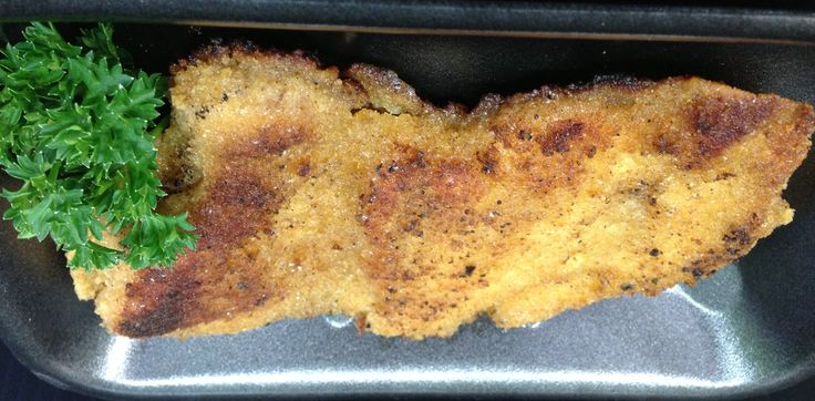 CRUMBED CHICKEN THIGH SCHNITZEL - No added hormones! Tasty and juicy. #poultry - #crumbedchickenthighschnitzel #crumbedchicken #thighschnitzel #crumbedthighschnitzel #schnitzel #chicken #adamsfamilymeats