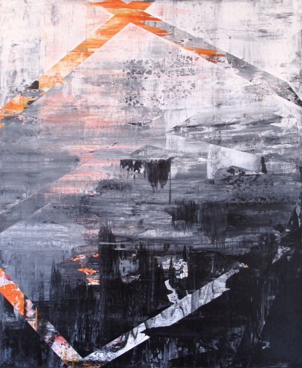 A012 Abstract art by Pia Haugseth