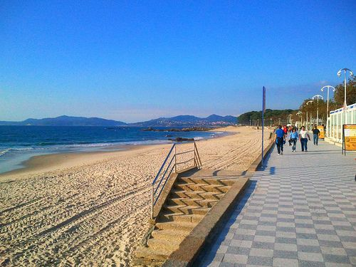 Playa de Samil in Vigo, Spain: http://www.europealacarte.co.uk/blog/2013/02/07/things-to-do-vigo/