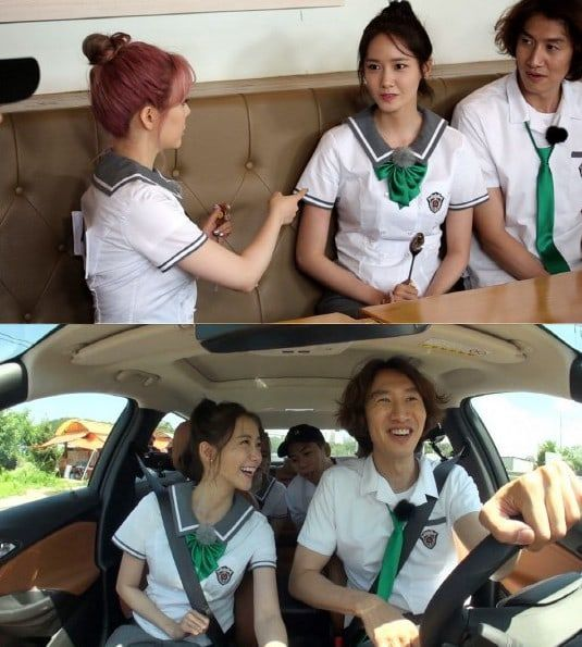 """Girls' Generation's YoonA will be talking onthe topic of boyfriends! On the upcoming August 13 episode of SBS's """"Running Man,"""" the Girls' Generation membe"""