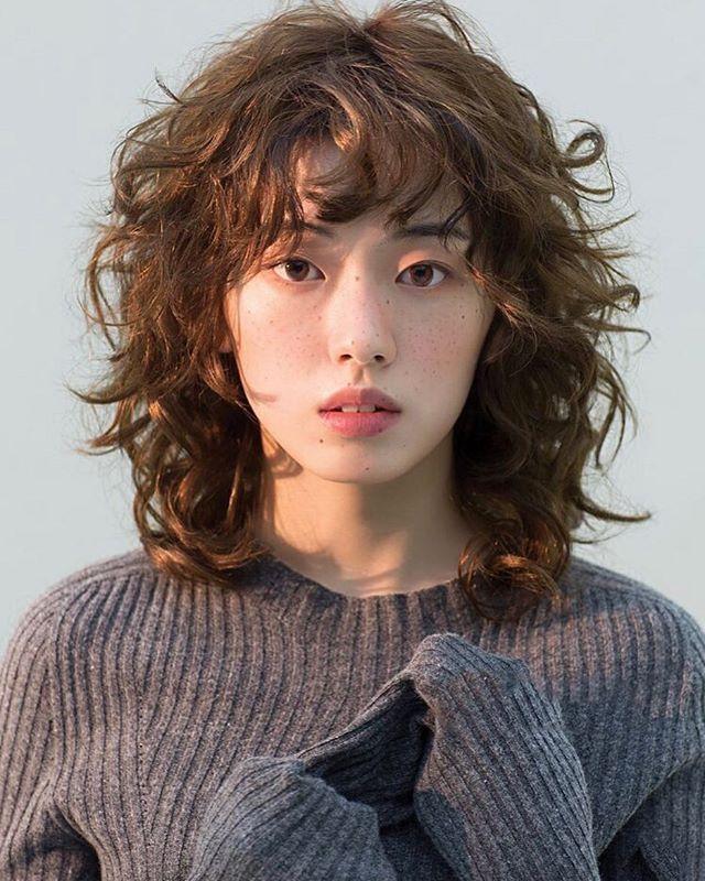 Hair Image 韓国のファッション誌もレイヤースタイルよく見かけるよう