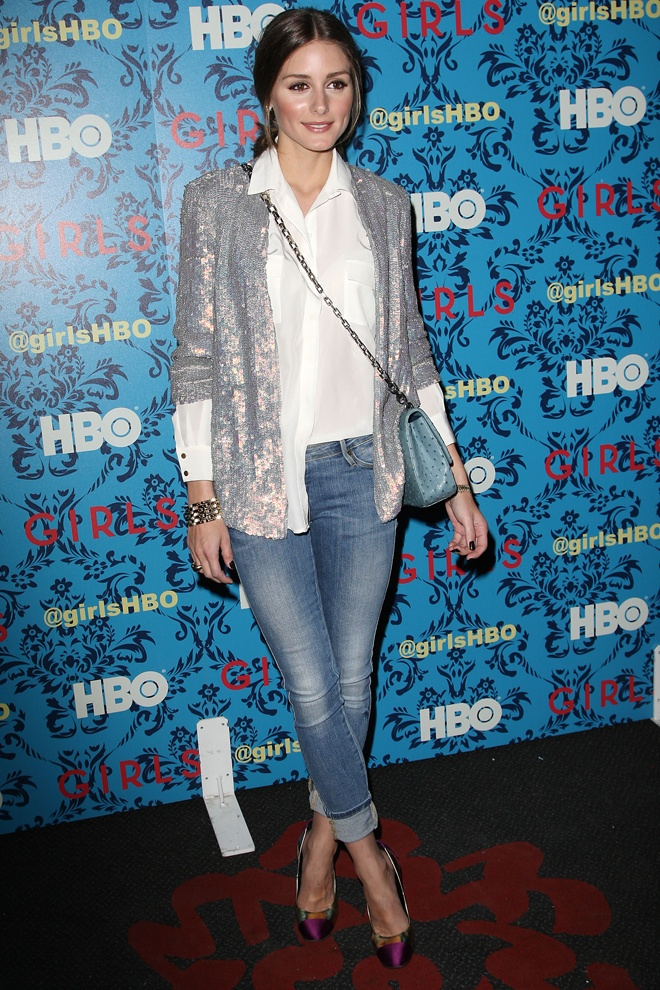 Olivia Palermo at New York City Première of HBO's girls