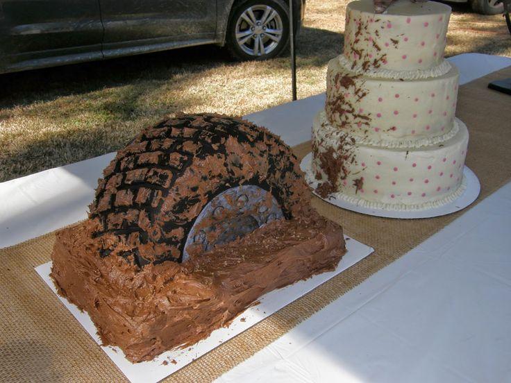 Mrs. Lydia's Kitchen: Let's Go Mudding- Wedding Cake Style