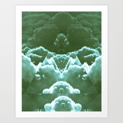 Triangle sky Art Print by TrineSejrup - $13.52