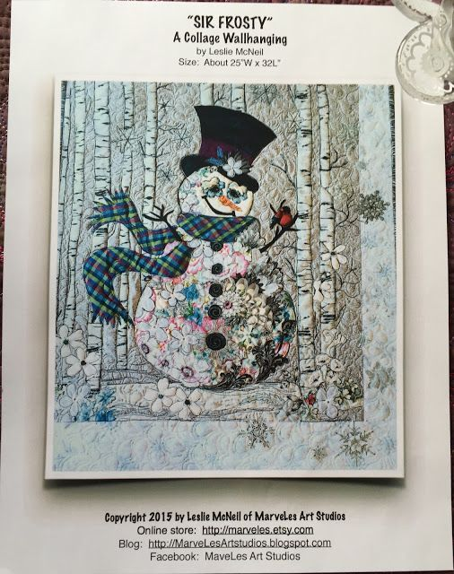 MarveLes Art Studios: sir frosty collage kits available~!: