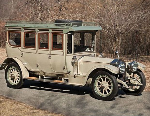 Luxe Classic: 1912 Rolls-Royce Silver Ghost is estimated to be worth $ 3.2 million