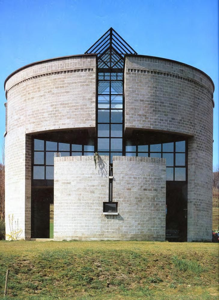 Casa Rotonda, Stabio Switzerland (1980-82) | Mario Botta