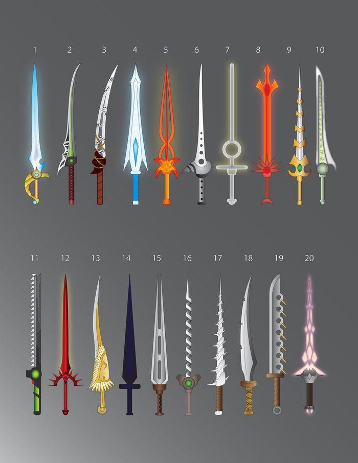100 Fantasy Swords Fantasy Sword Weapon Concept Art Sword Drawing