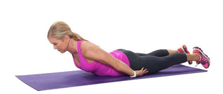 Mid-back extensions help strengthen your back and help deal with back pain.